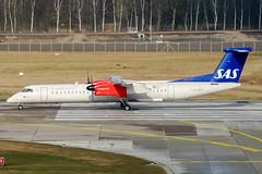 LN-RDF (PlanePixNase) Tags: hannover aircraft airport planespotting haj eddv langenhagen sas scandinavian dash8 dh4