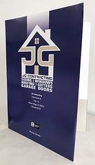 JG Contracting (NorthDenverSirSpeedy) Tags: pocket folder presentation hand out marketing materials