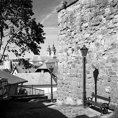 Eger, Hungary (Bernád Rozália) Tags: analoque film yashicamat124g ilforddelta100pro ilfosol3 epsonv700 scan selfdeveloped bw blackandwhite mediumformat eger hungary