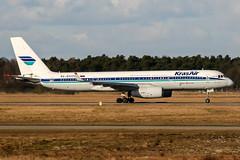 RA-64019 (PlanePixNase) Tags: hannover aircraft airport planespotting haj eddv langenhagen krasair tupolev tu204 t204