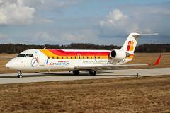 EC-HZR (PlanePixNase) Tags: hannover aircraft airport planespotting haj eddv langenhagen iberia airnostrum canadair 200 crj crj200 crj2