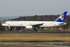 P4-GAS (PlanePixNase) Tags: hannover aircraft airport planespotting haj eddv langenhagen airastana boeing 757 757200 b752