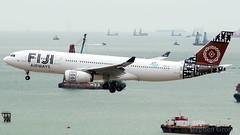 Fiji Airways Airbus A330-243 DQ-FJT (StephenG88) Tags: hongkong hongkongairport hkia cheklapkok observationdeck hkg vhhh boeing airbus 070719 7719 fijiairways fj fji fiji a330 a332 a330200 a330243 dqfjt