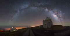 Roque de Los Muchachos (Pablo RG) Tags: la palma milkyway night noche spain nikon sky via lactea roque de los muchachos canarias observatorio