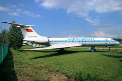 CCCP-65038 Former Aeroflot Tupolev Tu-134A on display at the Belarus Aerospace Museum, Borovaya Airfied Minsk on 25 May 2019 (Zone 49 Photography) Tags: aircraft airliner aeroplane may 2019 minsk belarus aerospace museum su afl aeroflot tupolev tu134 tu134a cccp65038