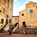 Church in Montepulciano, Italy