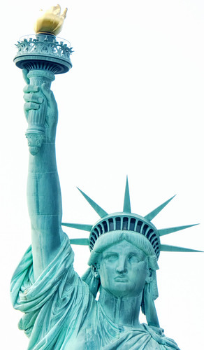Lady Liberty Head and Torch
