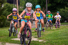 Kid's Triathlon (4) (WayNet.org) Tags: track dennis waynet girl helmet indiana kids bicycle wayne county exercise ride waynetorg sports triathalon waynecounty richmond unitedstatesofamerica