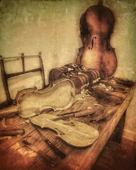 instrument maker's table (Flight of life) Tags: