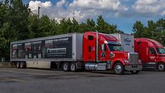 Freightliner Coronado MK2 (NoVa Truck & Transport Photos) Tags: truck big rig 18 wheeler vehicle transportation freightliner coronado open road distributing ta travelcenters america