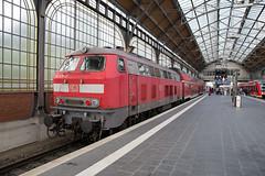 DB Regio 218 470 Lübeck (daveymills37886) Tags: db regio 218 470 lübeck baureihe v160