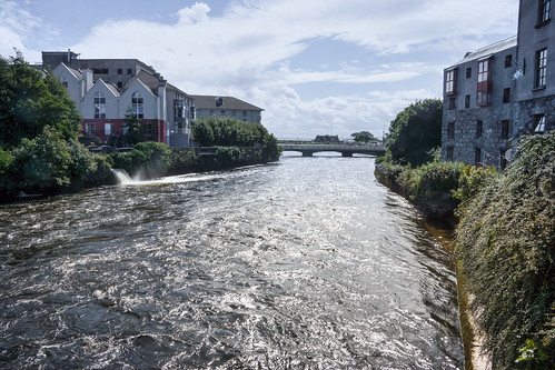 THE RIVER CORRIB GALWAY [PHOTOGRAPHED AUGUST 2015 USING A SONY NEX-7]-154342