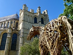 Canterbury Cathedral Horse