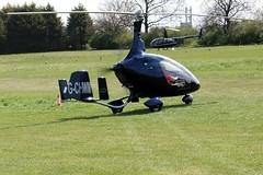 G-CHWM   Rotorsport UK Cavalon [RSUK/CVLN/002] Popham~G 05/05/2013 (raybarber2) Tags: airportdata autogyro cnrsukcvln002 eghp filed flickr gchwm planebase raybarber ukcivil