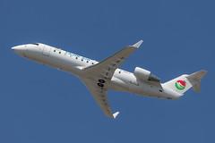 C-GKLC / Tajik Air (Avmax) (Wee in YYC) Tags: cgklc tajikair crj crj200er avmax cyyc yyc