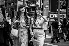 Tokyo 2019 (burnt dirt) Tags: asian japan tokyo shibuya station streetphotography documentary candid portrait fujifilm xt3 bw blackandwhite laugh smile cute sexy latina young girl woman japanese korean thai dress skirt shorts jeans jacket leather pants boots heels stilettos bra stockings tights yogapants leggings couple lovers friends longhair shorthair ponytail cellphone glasses sunglasses blonde brunette redhead tattoo model train bus busstation metro city town downtown sidewalk pretty beautiful selfie fashion harajuku sweater people person costume cosplay boobs