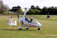 G-ULUL    Rotorsport UK Cavalon [RSUK/CVLN/009] Popham~G 05/05/2013 (raybarber2) Tags: 91 airportdata autogyro cnrsukcvln009 coded91 eghp filed flickr gulul planebase raybarber ukcivil