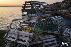 Out and about in Bauline (gwhiteway) Tags: sunset bauline boasts fishing nature newfoundland labrador canada c2c boom wharf dock tim hortons fish cod lobster pots july 22 2019 canon 5d mark ii olympus m10 iii