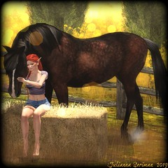 Beautiful Boy (Julianna Seriman) Tags: foxy lelutka maitreya shaesdesigns cartsale cartsaleatthewash thewash sizzlingsummer waterhorse waterhorseridinghorse cinnamon antaya vsteed pout ikon solfarm fabfree fabulouslyfree fabfreeinsl fabfreeinsecondlife fabulouslyfreeinsl fabulouslyfreeinsecondlife secondlife free freeinsl groupgift luckychair