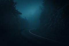 Parkway Mood (johanhakanssonphotography) Tags: moodyspooky blueridgemountains blueridgeparkway mist fog rain light blue nikon nature scenic calm johanhakanssonphotography photography digitalphotography southernappalachians northcarolina atmosphere westernnorthcarolina nationalparkservice