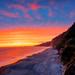 Sunset at California's Point Reyes National Seashore