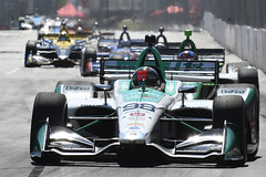 Marco Andretti and the pack, Toronto 2019 (Richard Wintle) Tags: ntt nttdata honda indy toronto streetsoftoronto exhibitionplace frontstraight princesavenue marcoandretti andrettiautosport andretti