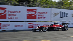 Danial Frost / Exclusive Autosport, turn 6 in Toronto 2019 (Richard Wintle) Tags: ntt nttdata indycar roadtoindy indypro2000 pro2000 mazda streetsoftoronto exhibitionplace honda indy toronto ontario canada turn6 danialfrost exclusiveautosport
