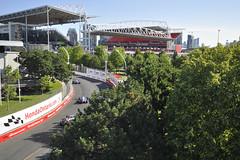 Grandstand view - Honda Indy Toronto 2019 (Richard Wintle) Tags: turn4 hondadealersofontario chequeredflagevent ntt nttdata honda indy toronto ontario canada exhibitionplace streetsoftoronto
