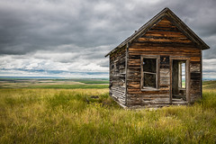 Manson, Montana (paccode) Tags: solemn d850 landscape greatplains brush serious meadow quiet abandoned barn home shack valley house farm forgotten scary montana colorful creepy field conrad unitedstatesofamerica greatphotographers