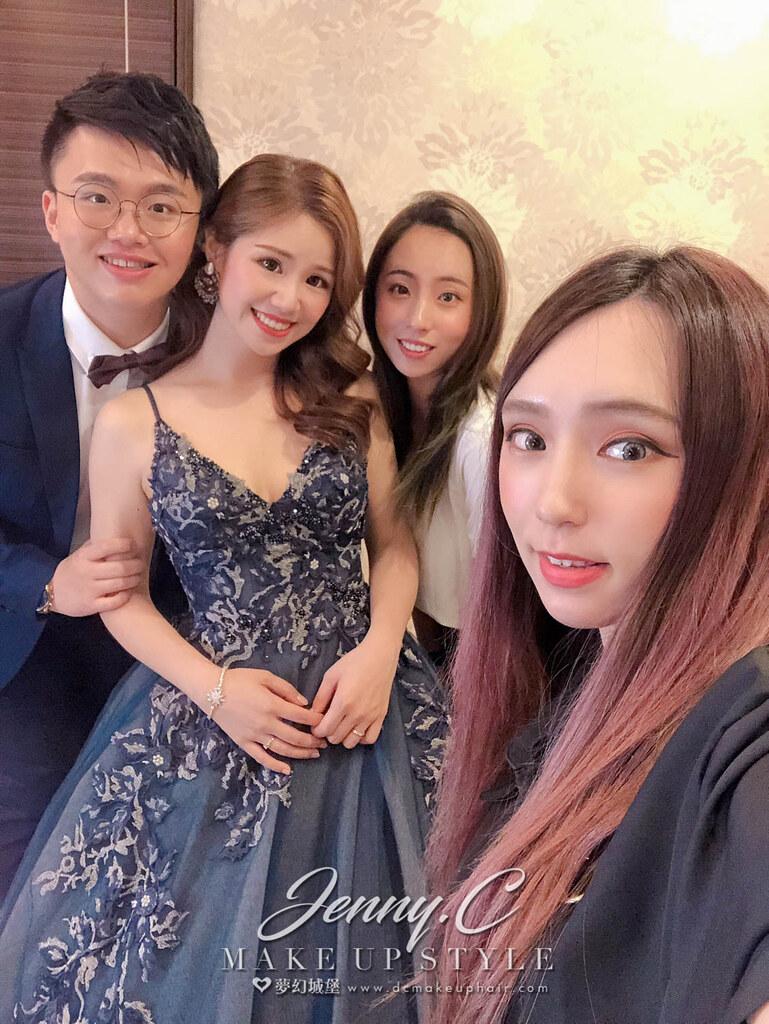 【新秘蓁妮】bride微婕 歸寧造型 / 台中雅園新潮