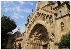 Hungary - Budapest - Vajdahunyad Castle - Ják Chapel (ottilia dozsa) Tags: hungary magyarorszag budapest church templom holyplaces vajdahunyadcastle valdahunyadvara jakchapel jakikapolna ycabi