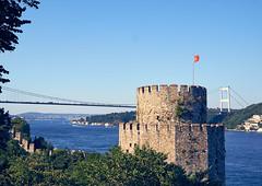 Istanbul (jpratt452) Tags: travel travelphotography istanbul europe turkey sony sonnar2418za sonyalpha ilce6000 a6000 zeiss water boat bosporus goldenhorn river architecture ruins castle