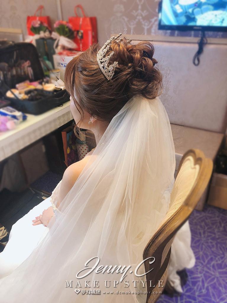 【新秘蓁妮】brid芸竹 結婚造型 / 新天地東區店