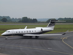 VP-BCT Gulfstream G650 (Gama Aviation Ltd) (Aircaft @ Gloucestershire Airport By James) Tags: luton airport vpbct gulfstream g650 gama aviation ltd bizjet eggw james lloyds