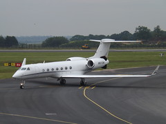 N517DW Gulfstream G550 (Colleen Corp) (Aircaft @ Gloucestershire Airport By James) Tags: luton airport n517dw gulfstream g550 colleen corp bizjet eggw james lloyds