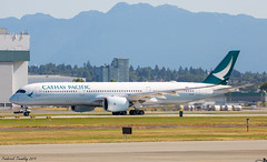 Cathay Pacific / Airbus A350-941 / B-LRS / YVR (tremblayfrederick98) Tags: cathay cathaypacific a350 airbus aviation vancouver yvr heavy