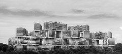 Interlace (roberto.crucitti) Tags: huge imponente massive bw blackandwhite breathtaking skyhabitat iconic icon around street photo creativity creative inspiration bloc glow modern travel urban property residential structure tall skyscraper architectual public apartment art colori building facades housing singapore interlace