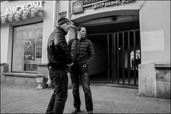 8_DSC3066 (dmitryzhkov) Tags: urban city everyday public place outdoor life human social stranger documentary photojournalism candid street dmitryryzhkov moscow russia streetphotography people man mankind humanity bw blackandwhite monochrome arbat