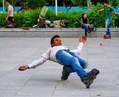 Roller Skater - Isfahan, Iran (18.05.2012) (The Very Best of Yuri Novitsky) Tags: yurinovitsky jurijnowicki юрийновицкий rollerskater roller skater isfahan iran