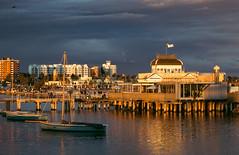 St.Kilda Pier Glow (RP Major) Tags: stkilda pier boats melbourne victoria clouds sunset dawn water port phillip