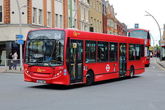 SE23 SN57 DWK (ANDY'S UK TRANSPORT PAGE) Tags: buses ilford london goaheadlondon bluetriangle