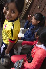 Isn't that funny? (klauslang99) Tags: klauslang kids children fun laughter playing cuenca ecuador
