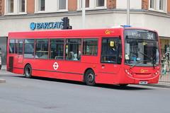 SE27 SN57 DWP (ANDY'S UK TRANSPORT PAGE) Tags: buses ilford london goaheadlondon bluetriangle