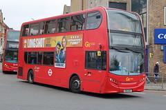 E163 SN61 BGF (ANDY'S UK TRANSPORT PAGE) Tags: buses ilford london goaheadlondon bluetriangle