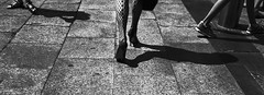 Go your own way... (Baz 120) Tags: candid candidstreet candidportrait city contrast street streetphotography streetphoto streetcandid streetportrait strangers rome roma ricohgrii europe women monochrome monotone mono noiretblanc bw blackandwhite urban life portrait people provoke italy italia grittystreetphotography faces decisivemoment