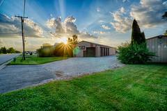 Rays (kendoman26) Tags: htt happytelegraphtuesday sunset sunburst sunrays hdr nikhdrefexpro2 sonyalpha sonyphotographing sonya6000 selp1650 sonyvclecu1