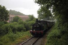 Drash Nationale @ Nismes (Peter Van Gestel) Tags: chemin de fer vapeur des trois vallees cfv3v viroin val nismes lijn ligne 132