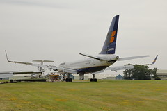 TF-ISZ (Rob390029) Tags: icelandair boeing 757 tfisz cotswold airport kemble egbp