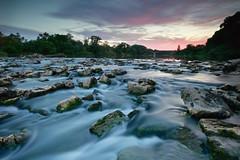 Rio Ebro (explore 272) (pascual 53) Tags: rioebro sedas canon 5ds 1635mm ocaso colores rocas puente funes navarra largaexpo lee lucroit naturaleza