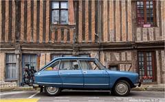 My car (Wouter Bregman) Tags: 0953ms citroën ami 8 club 1970 citroënami8 citroënami ami8 blue bleu danube tillièressuravre tillières sur avre 27 eure normandie france vintage old classic french car auto automobile voiture ancienne française frankrijk vehicle outdoor